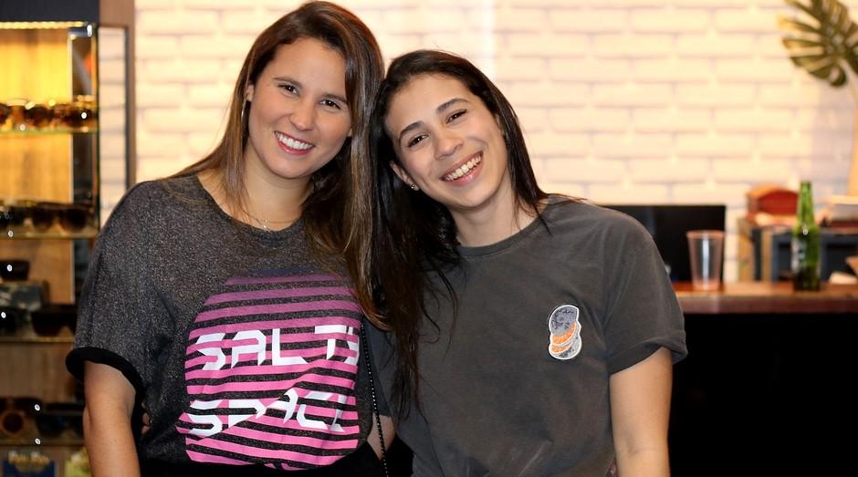 Juliana Silveira e Jéssica Nepomuceno: empresárias apostam na economia colaborativa (Foto: Divulgação)