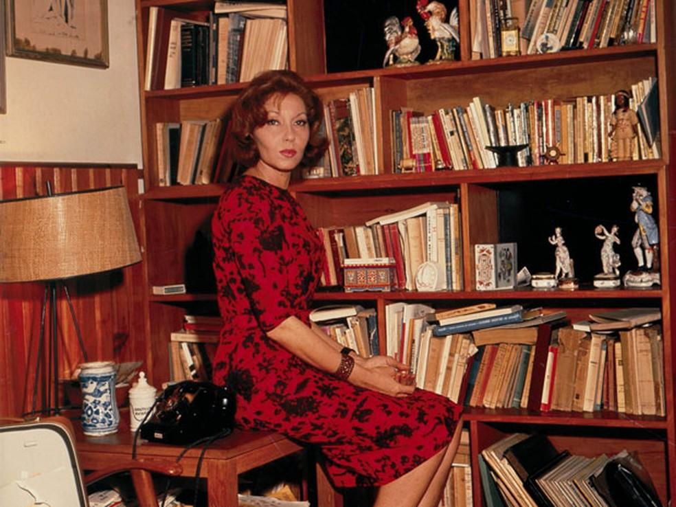 A escritora brasileira Clarice Lispector — Foto: Divulgação/Rocco