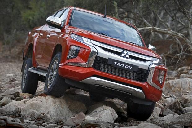 Mitsubishi L200 Triton Sport renovada ainda não foi confirmada, mas virá para o Brasil (Foto: Divulgação)