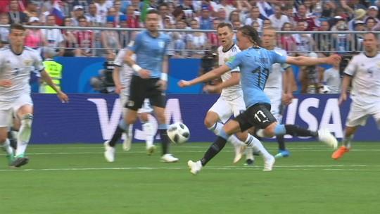 Uruguai x Rússia - Copa do Mundo 2018 - globoesporte.com
