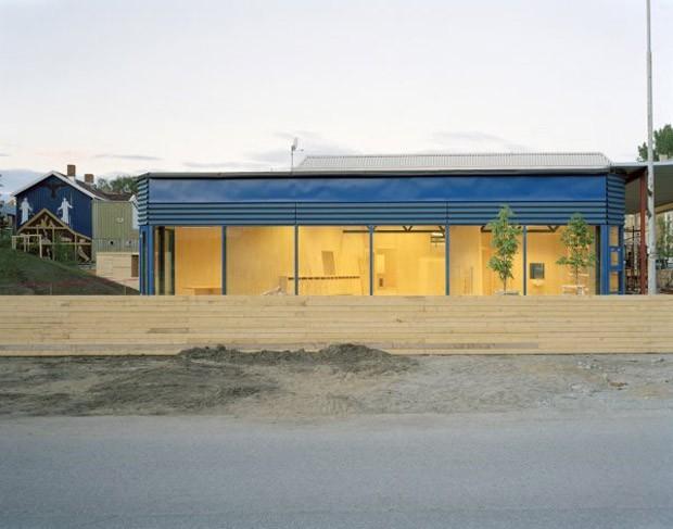 Zona ecológica na Noruega reúne projetos arquitetônicos experimentais (Foto: David Grandorge)