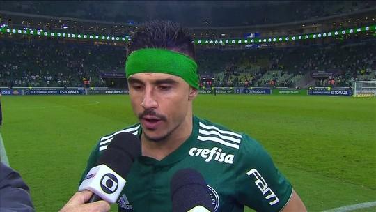 Willian diz que Palmeiras está fazendo o que deve e não pensa em resultados dos rivais