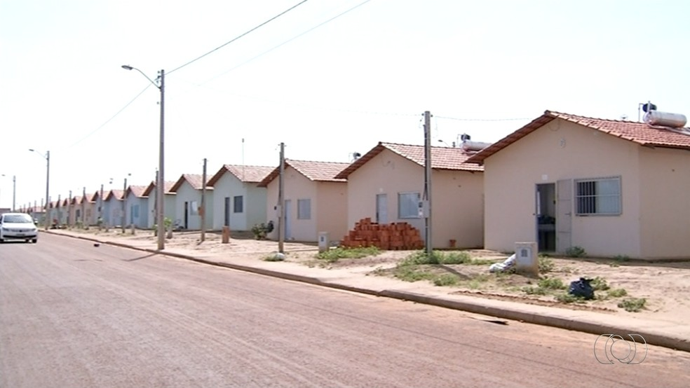 Em Araguaína, há 6,2 mil casas do programa do governo federal (Foto: Reprodução/TV Anhanguera)