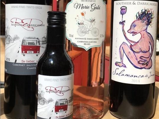 Vinhos da Routhier & Darricarrere, de Rosário do Sul