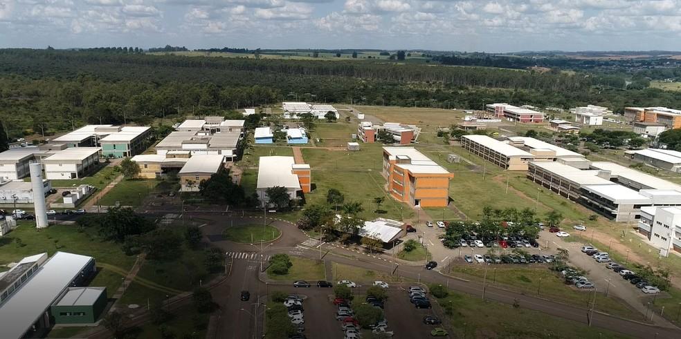 Segundo o MEC, UFSCar segue com atividades parciais — Foto: Reprodução/EPTV