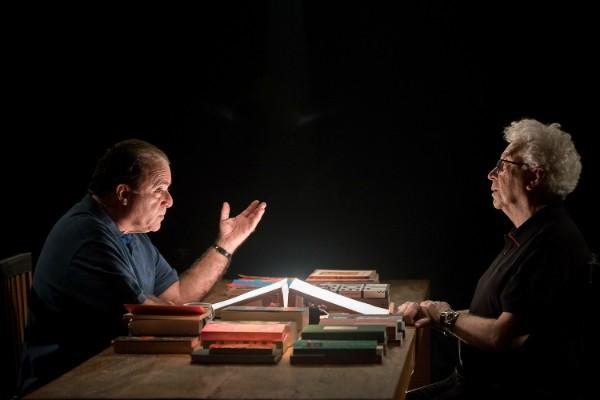 """Tony Ramos entrevistando Aguinaldo Silva em """"A Arte do Encontro"""" (Foto: Divulgação/Ana Paula Amorim)"""