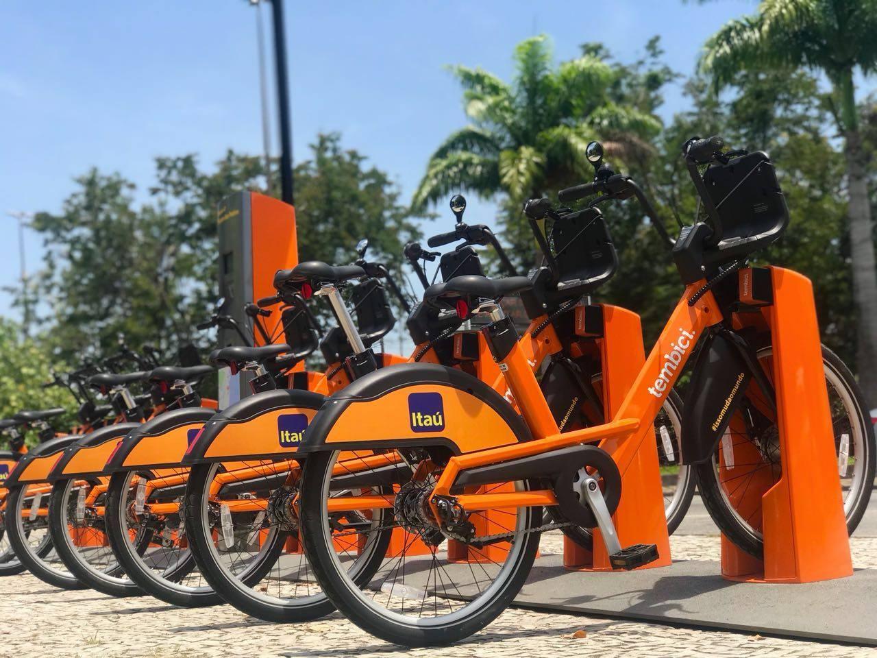 Bike do Itaú (Foto: Divulgação/Facebook)