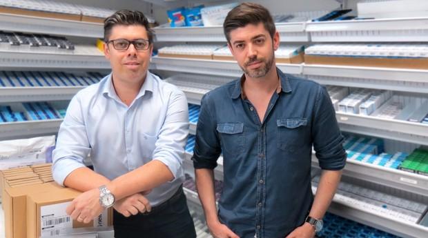 Daniel e Lucas Fernandes: sucesso no mercado de lentes de contato (Foto: Divulgação)