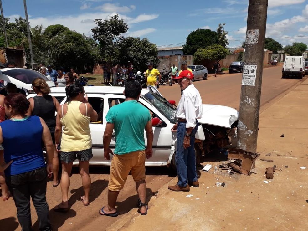 Moradores falaram sobre o acidente  Foto: Osvaldo Nóbrega/TV Morena