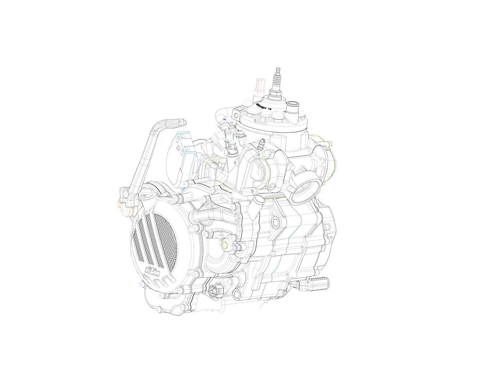 ktm ter u00e1 motor 2 tempos com inje u00e7 u00e3o eletr u00f4nica para motos