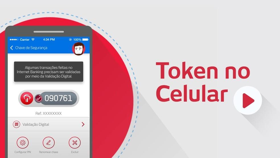 Bradesco fornece códigos únicos para cada transação no app (Foto: Divulgação/Bradesco)