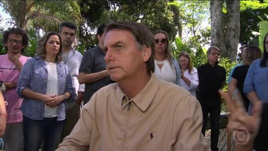 Bolsonaro diz que violência passou do 'absurdo' e que quanto mais se recua, 'mais criminosos avançam'