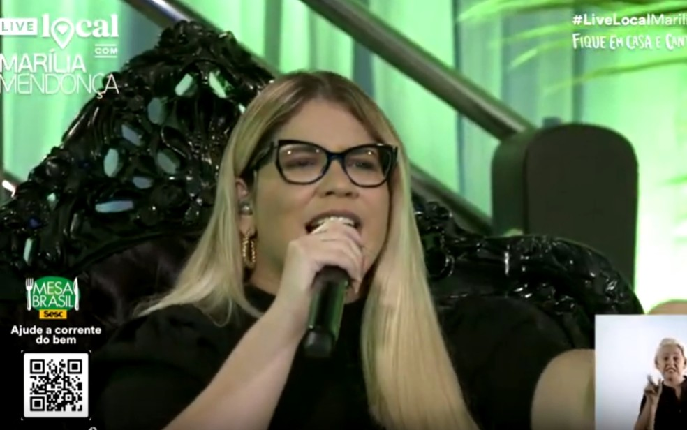 Marília Mendonça faz live durante a quarentena e 'reúne' mais 2 de ...