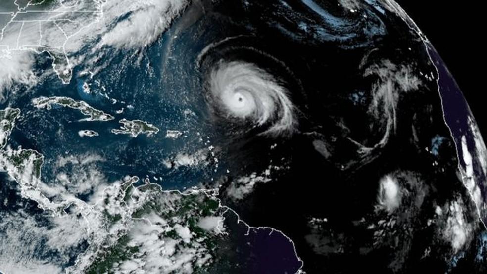 Um aspecto importante do La Niña é o efeito que pode ter no resto da temporada de furacões no Atlântico — Foto: NOAA