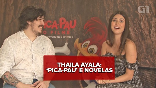 Thaila Ayala fala sobre o trabalho em 'Pica-Pau: o filme' e sua próxima novela