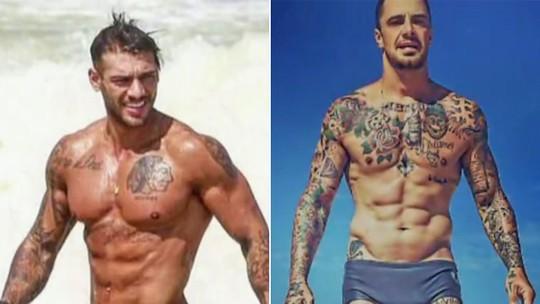 Lucas Lucco e Felipe Titto mostram exercícios para Rafael Cortez ganhar 'tanquinho'