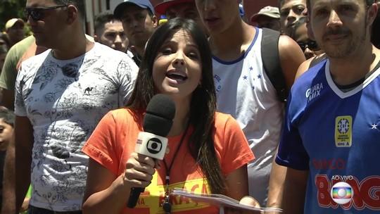"""Itabirito recebe a estreia do """"GE na Praça"""" 2019 e agita a galera na Praça da Estação"""