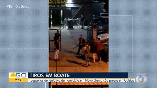 Dois homens são presos em Caldas Novas suspeitos de tentar matar homem em boate