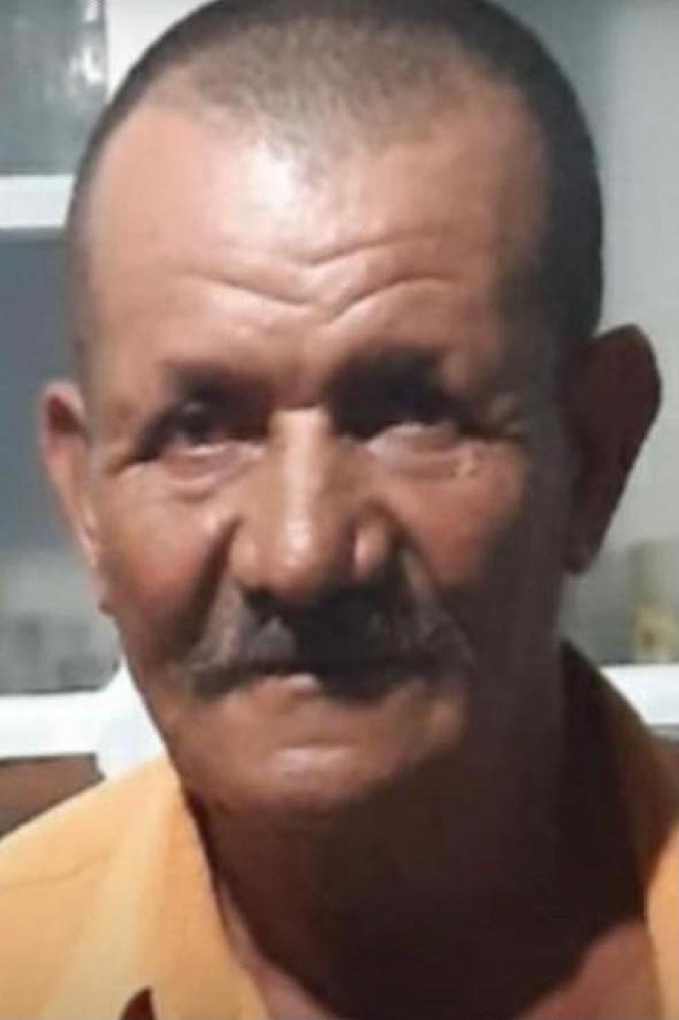Domingos Lima de Jesus, de 68 anos, morto em Central Carapina — Foto: Divulgação/Polícia Civil