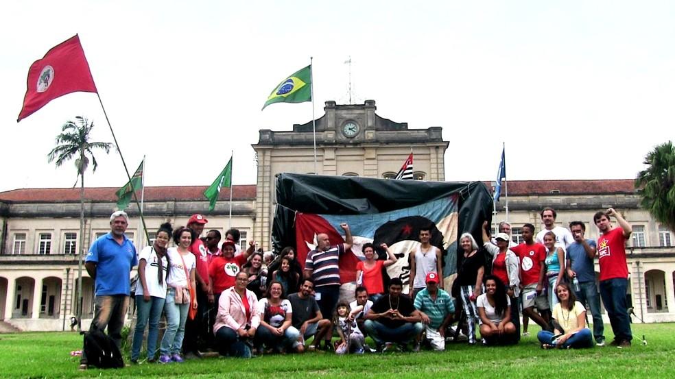 4ª Jornada Universitária de Apoio à Reforma Agrária na Esalq ocorreu em 2017 — Foto: Fernanda Moraes
