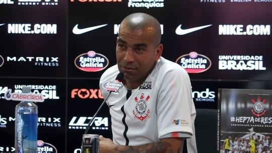 """Qual será o número da camisa de Sheik no Corinthians? Atacante revela """"ideia irada"""""""