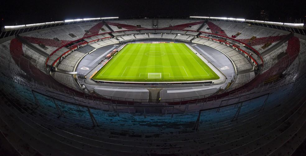 Monumental de Núñez vai receber o confronto entre River Plate e Atlético-MG — Foto: Staff Images/Conmebol