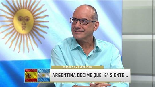 """Lédio Carmona sobre humilhação da Argentina: """"Não dá para comparar com Brasil e Alemanha"""""""