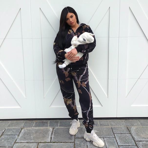 Kylie Jenner e a filha Stormi (Foto: Instagram/Reprodução)