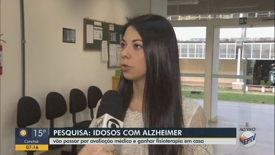 Pesquisa da UFSCar oferece atendimento gratuito a idosos com Alzheimer