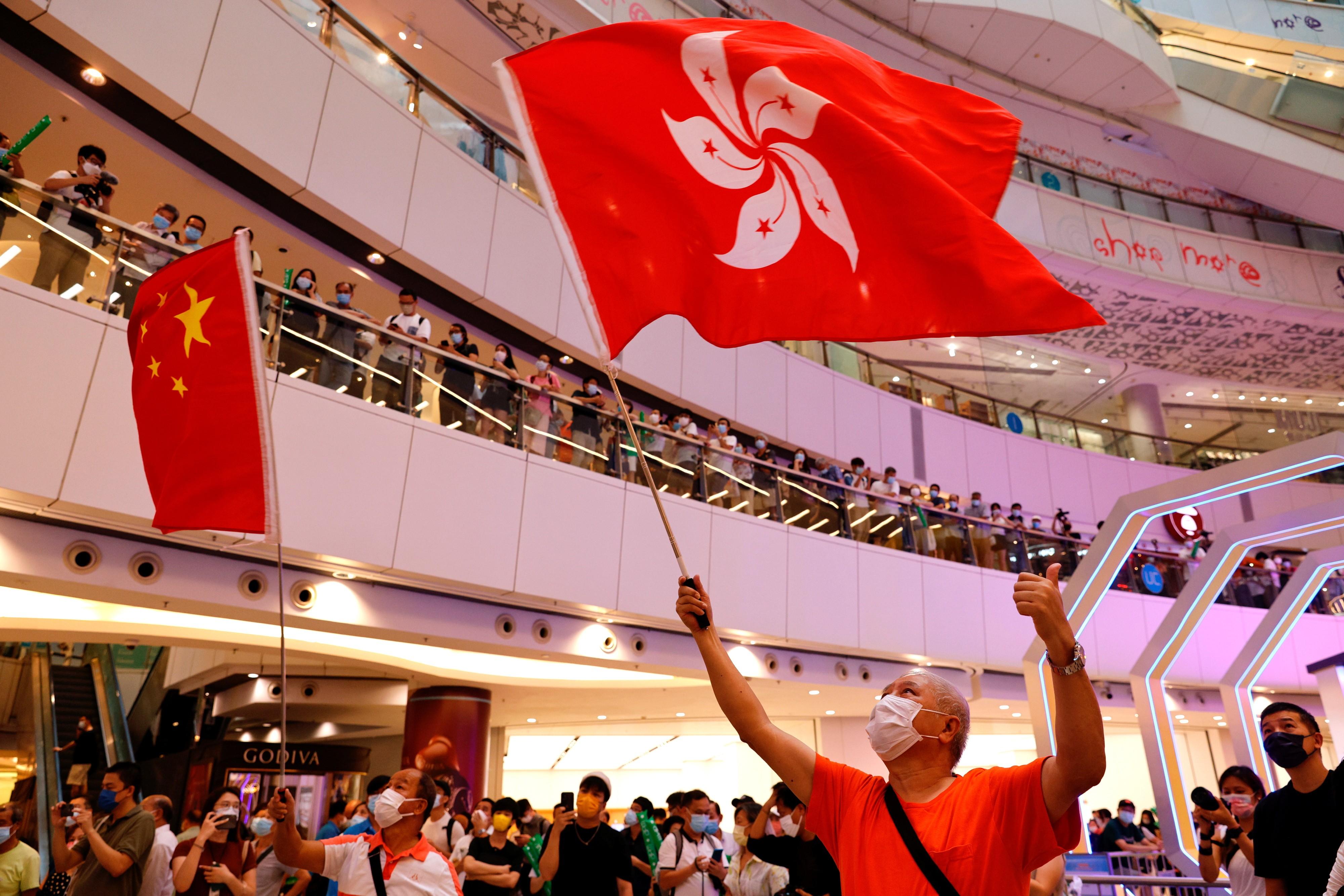 Polícia de Hong Kong investiga vaia ao hino chinês durante Jogos de Tóquio