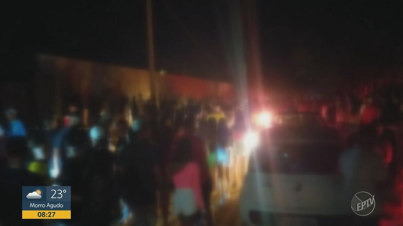 Vigilância Sanitária encerra festa com 2 mil pessoas em chácara de Franca