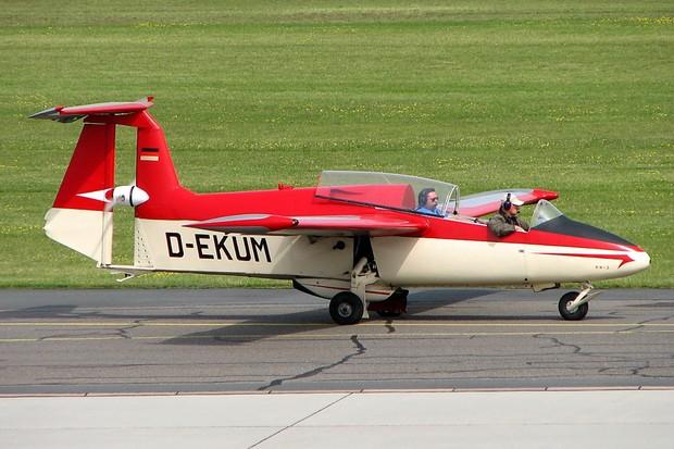 O exótico e raro Rhein-Flugzeugbau RW-3 era o avião mais bacana com motor 678  (Foto: Luftfahrtclubbraunschweig.de/Reprodução)