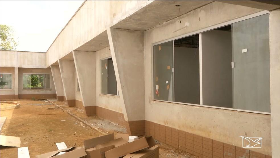 Os investimentos em obras no campus Balsas duram de 2013 até 2018 e já somam mais de R$ 11 milhões. — Foto: Reprodução/ TV Mirante
