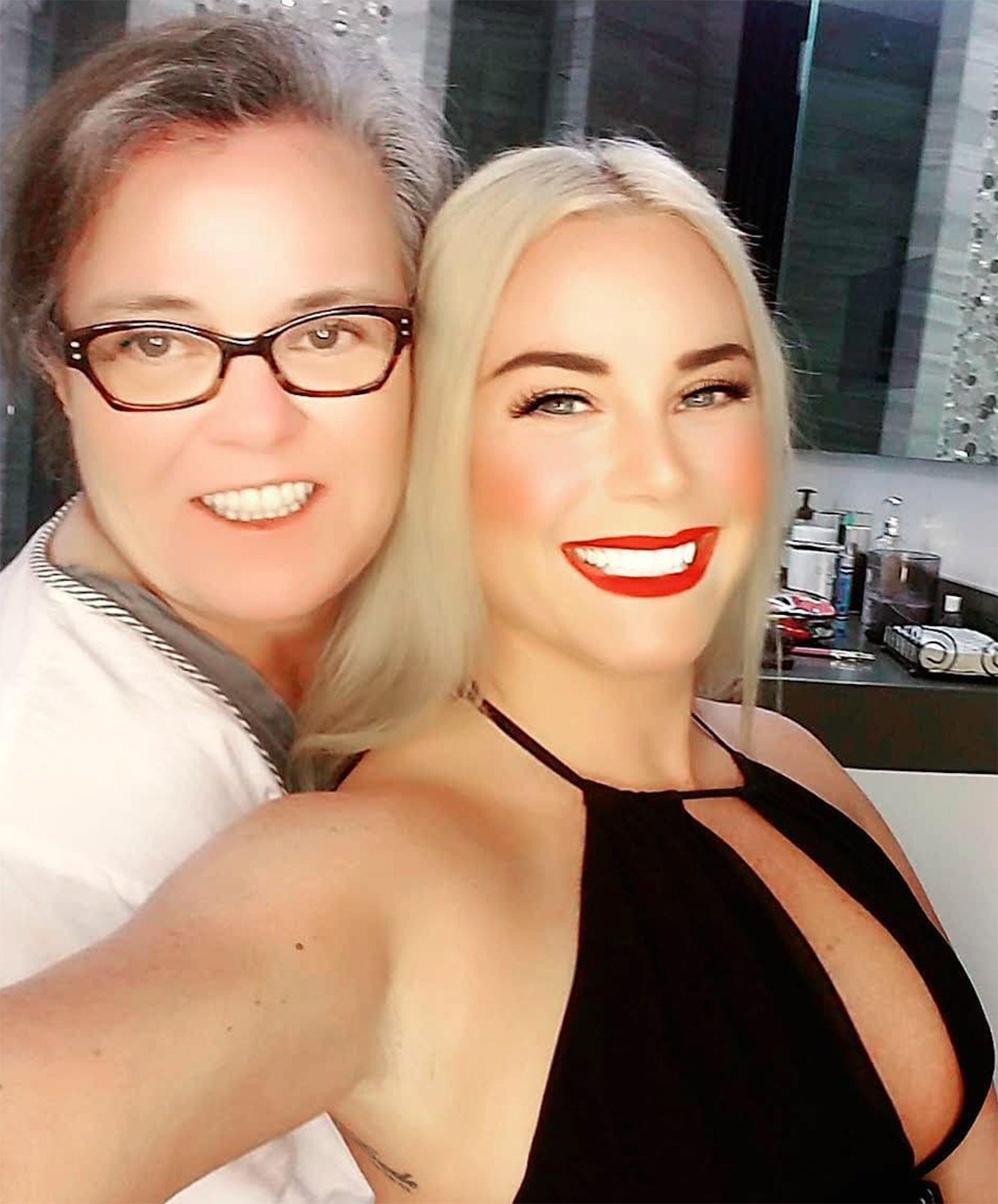 Rosie O'Donnell e Elizabeth Rooney (Foto: Instagram)