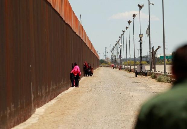 Muro é aprovado pela justiça norte-americana (Foto: Reuters/Jose Luis Gonzalez/Direitos reservados, via Agência Brasil)
