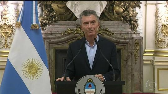 Após Argentina pedir ajuda ao FMI, Temer usa Twitter para elogiar Mauricio Macri