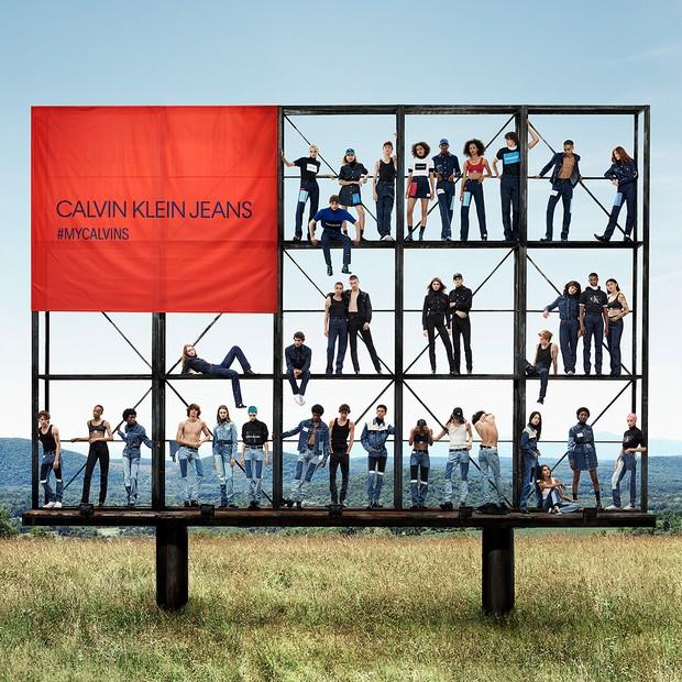 Together in Denim: a nova campanha da Calvin Klein Jeans  (Foto: Divulgação/Willy Vanderperre para Calvin Klein)