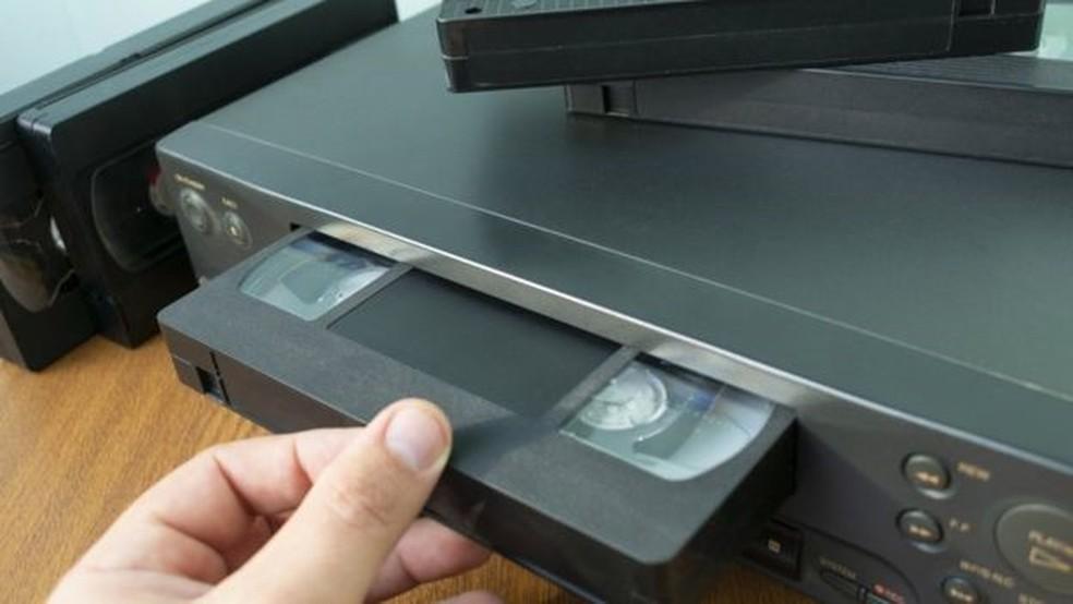 Videocassete começou a se popularizar no país no início da década de 1980 — Foto: Getty Images via BBC