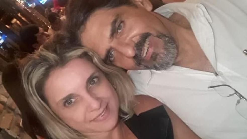 O advogado Aldemir Pessoa Júnior é suspeito de matar a namorada, Jamile Correia. A polícia também trabalha com a hipótese de suicídio da empresária. — Foto: Arquivo pessoal