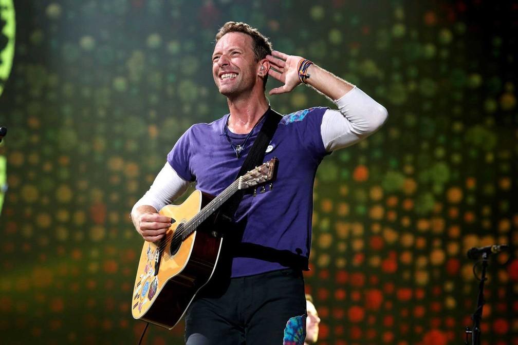 Show do Coldplay em SP— Foto: Celso Tavares / G1