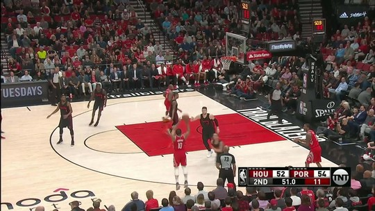 Melhores momentos: Houston Rockets 115 x 111 Portland Trail Blazers pela NBA