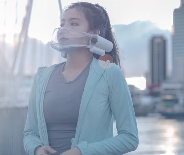 Designers criam máscara que purifica o ar que respiramos (Foto: Divulgação)