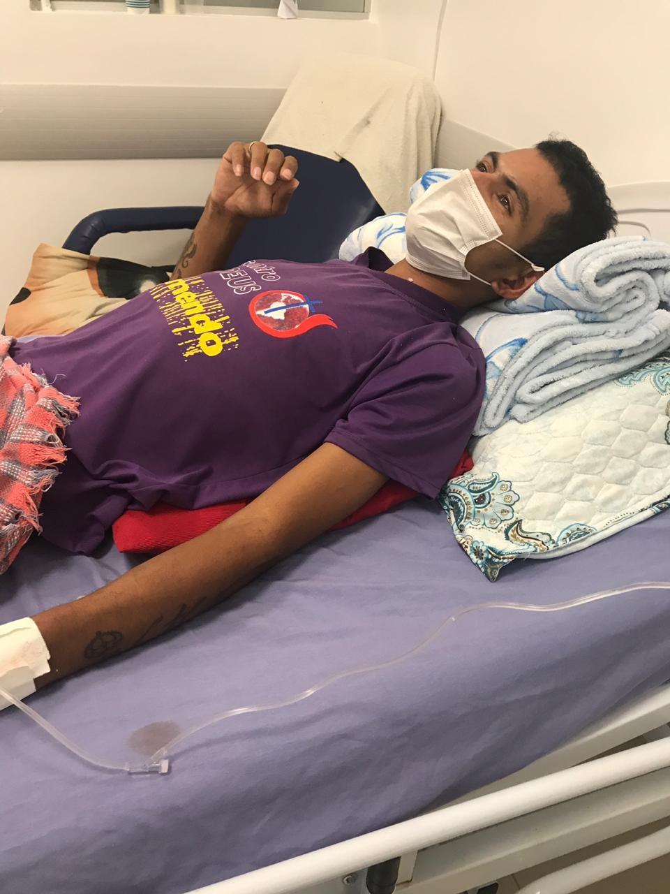 Foragido condenado por assassinato é preso em hospital de Boa Vista