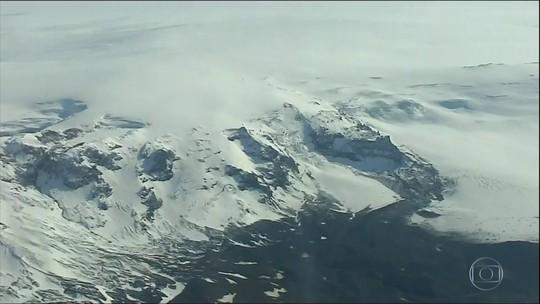 Projeto que monitora geleiras da Islândia mostra que país perdeu 1 centésimo da sua área