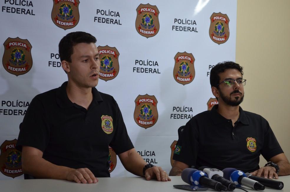 Polícia Federal esclaresceu sobre a Operação Fortress  deflagrada em Rondônia (Foto: Hosana Morais/G1)