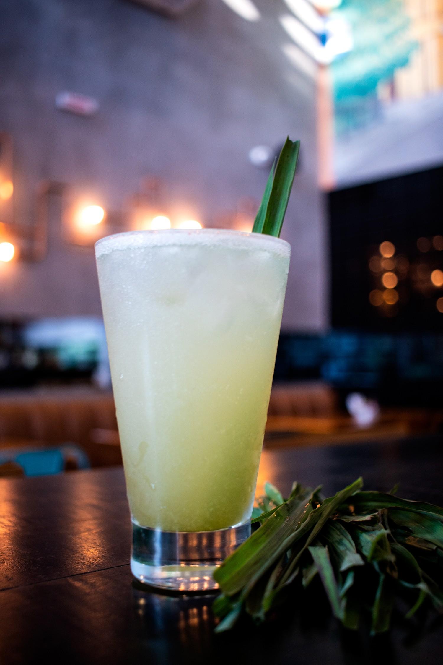 Receita do soft drink Lemon Grass Tea (Foto: Divulgação)