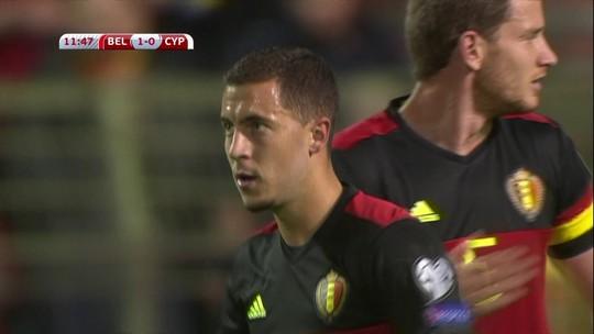 Irmãos Hazard garantem a Bélgica como cabeça de chave; Grécia vai à repescagem