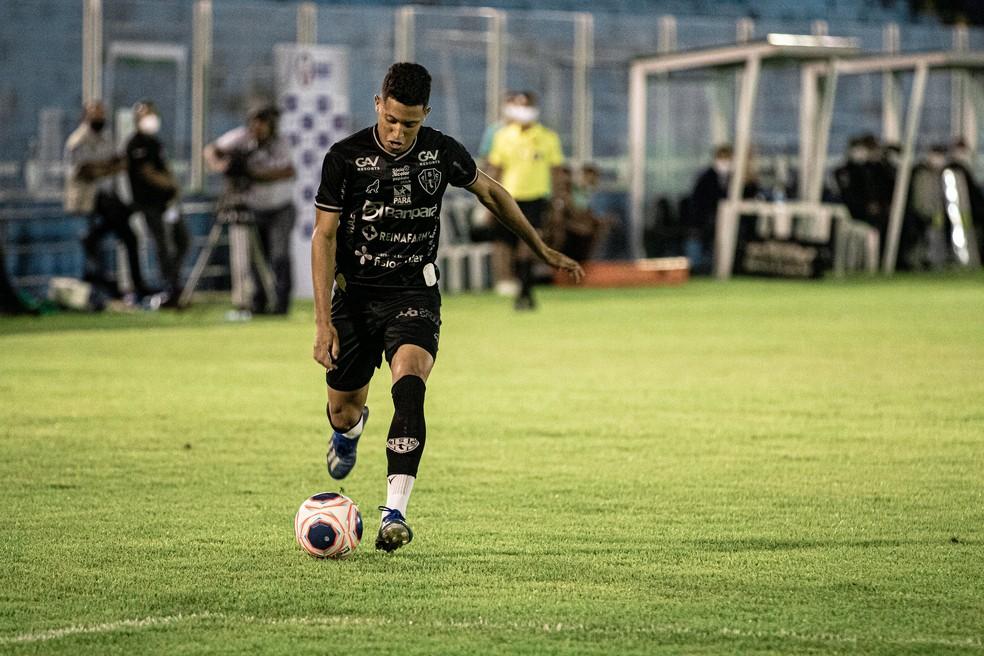 Marlon, atacante do Paysandu — Foto: John Wesley/Ascom Paysandu