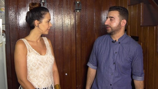 Briza Menezes conhece a realidade de um refugiado sírio em Salvador