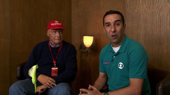 """Lauda diz que não interfere na disputa entre Rosberg e Hamilton: """"São livres"""""""